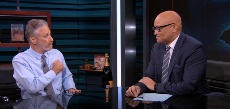 Jon Stewart on The Nightly Show