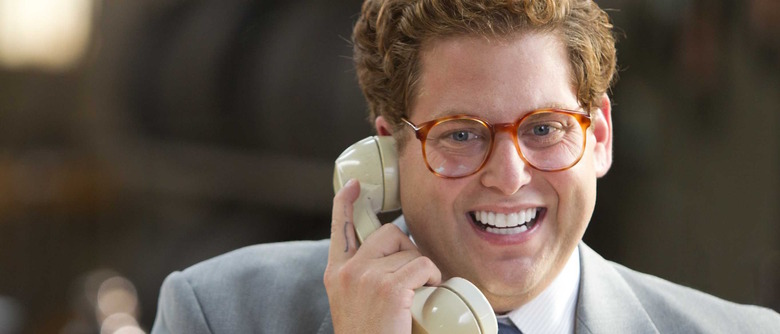 Jonah Hill in The Wolf of Wall Street