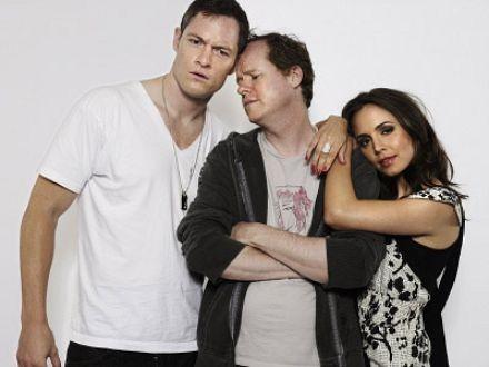 Joss Whedon, Eliza Dushku, Tahmoh Penikett, Dollhouse