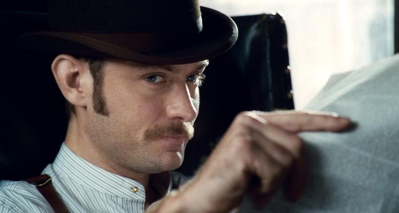 Jude Law in Sherlock Holmes