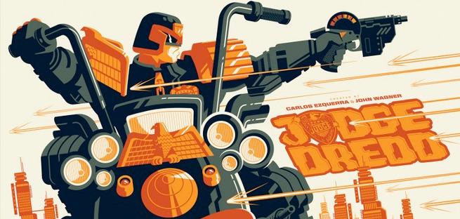Judge Dredd Prints - Tom Whalen