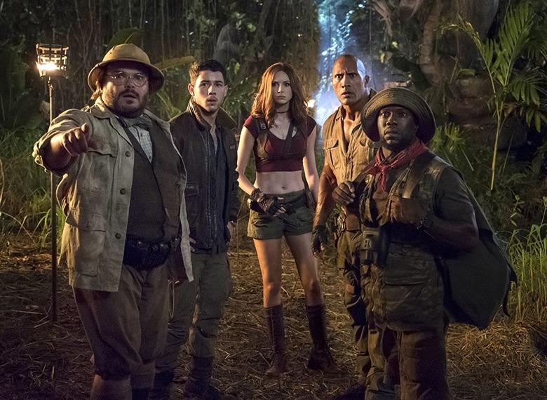 jumanji welcome to the jungle box office