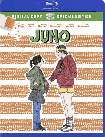 Juno Blu-Ray Disc Cover