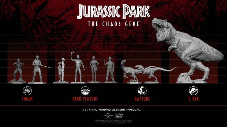 jurassic park the chaos gene