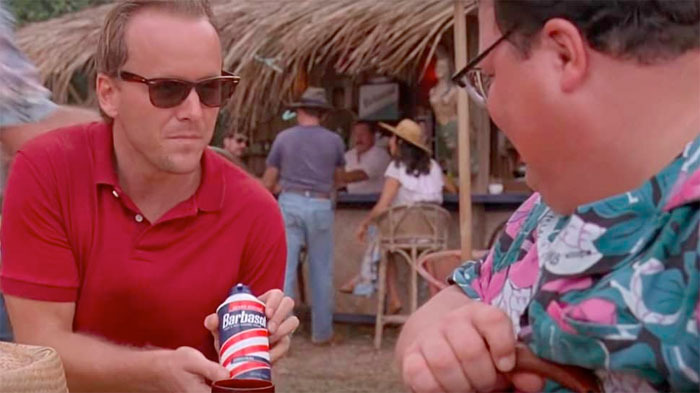 Jurassic Park Shaving Cream Cryo Can