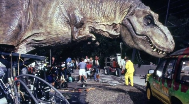Jurassic Park special effects