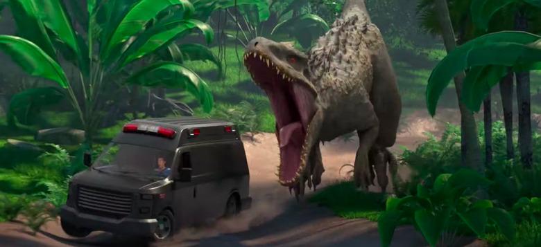 Jurassic World Animated Series Advice