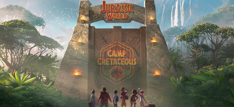 jurassic world animated series