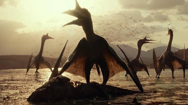 Jurassic World Dominion flying dinosaurs