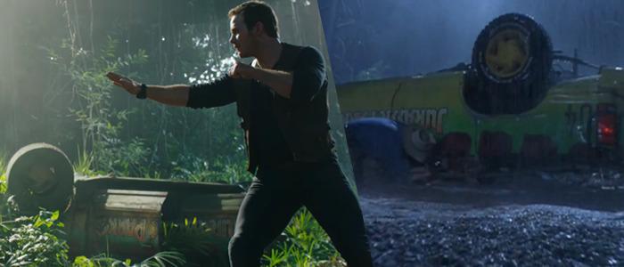 Jurassic Park Fallen Kingdom trailer breakdown
