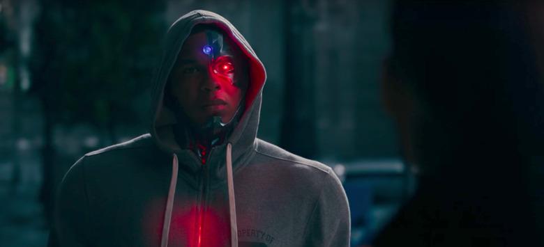 justice league cyborg promo