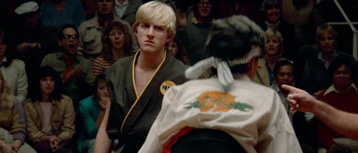 Karate Kid footage