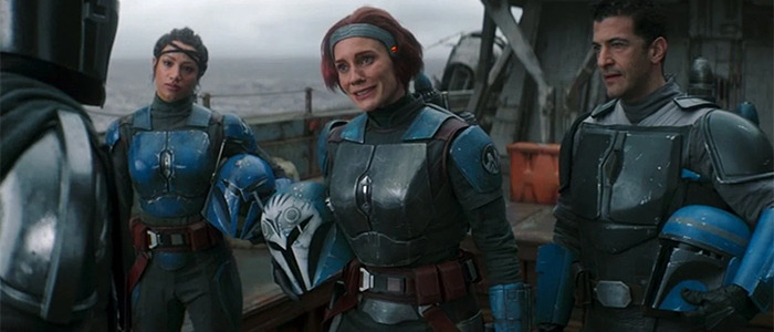 Katee Sackhoff Interview for The Mandalorian