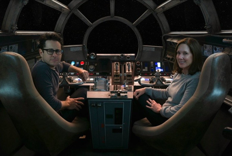 Kathleen Kennedy and JJ Abrams