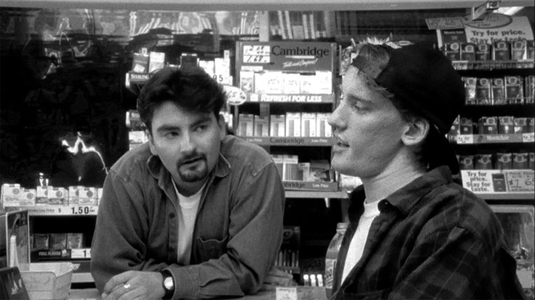Kevin Smith Reveals A First Look At Clerks III Meticulously Recreating The Original Clerks