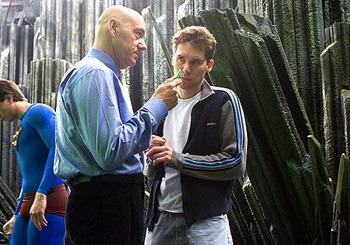 Lex Luthor and Bryan Singer