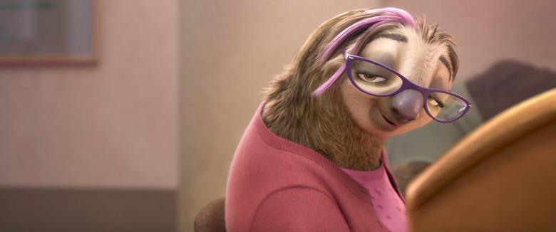 Zootopia sloth kristen Bell