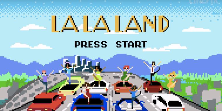 La La Land 8-Bit Cinema