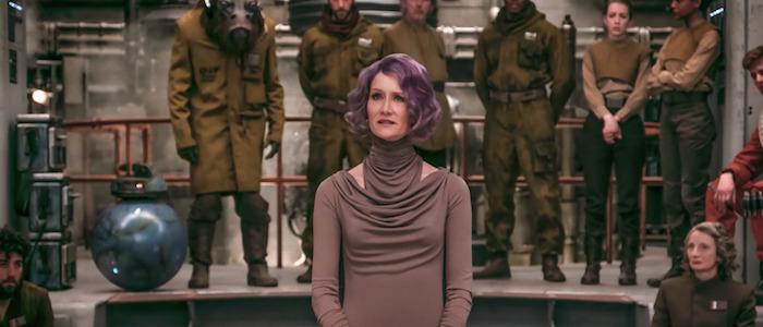 Laura Dern on Star Wars