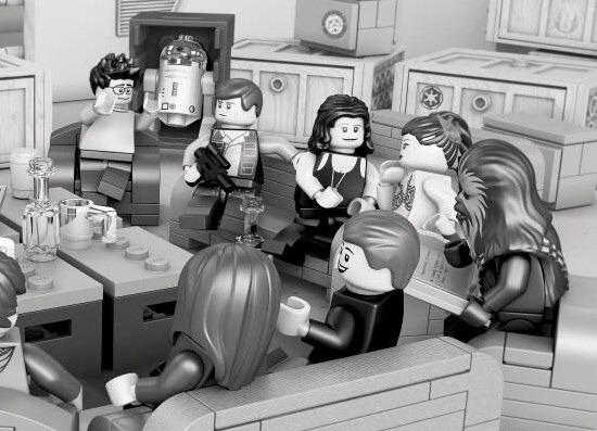LEGO Star Wars Episode 7 Script Read Recreation