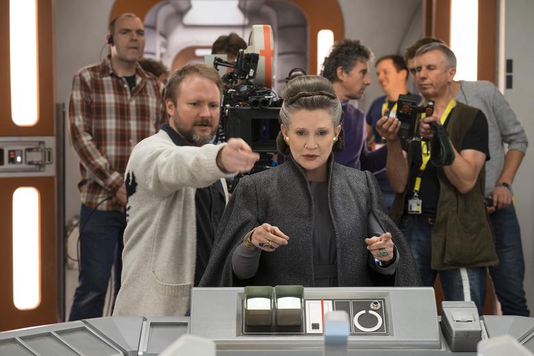 Leia in The Last Jedi