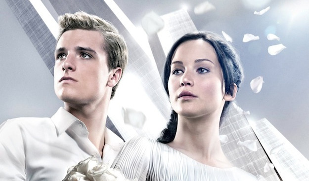 The Hunger Games Catching Fire - Katiss and Peeta Victory Tour header