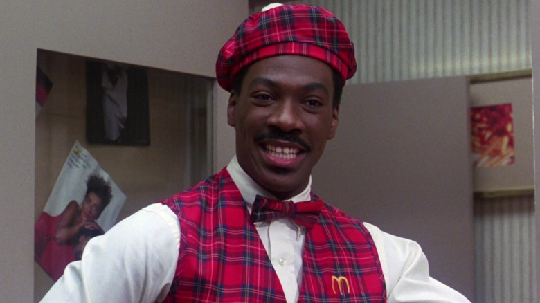 Akeem working at McDowell's