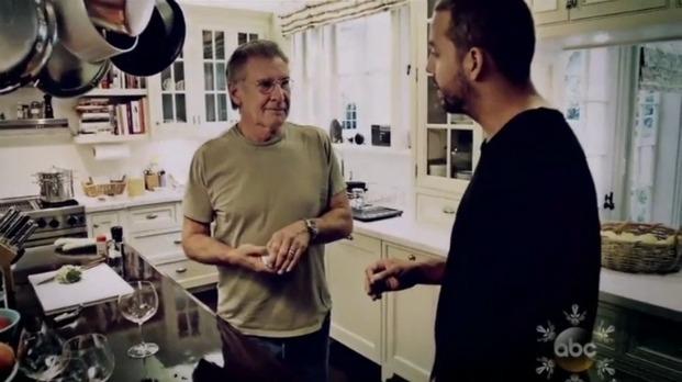 Harrison Ford on David Blaine Real or Magic