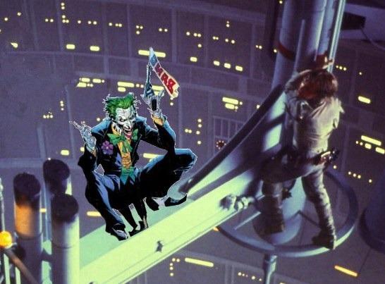 Joker vs. Luke Skywalker