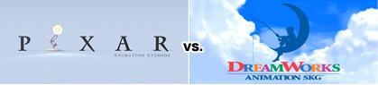 pixar vs dreamworks logo