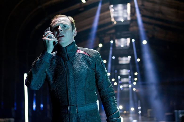 Star Trek Into Darkness, Simon Pegg