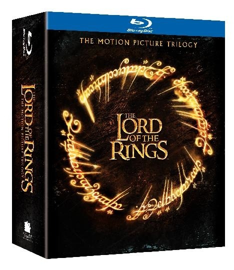 Lord of the Rings blu-ray