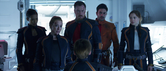 lost in space featurette