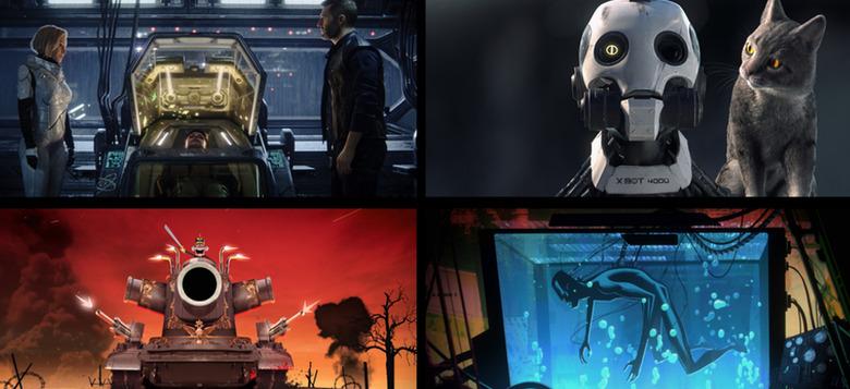 love, death & robots trailer