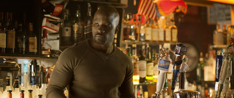Mike Colter as Luke Cage on Jessica Jones