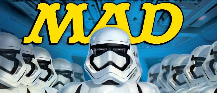 Mad Magazine Star Wars Force Awakens header