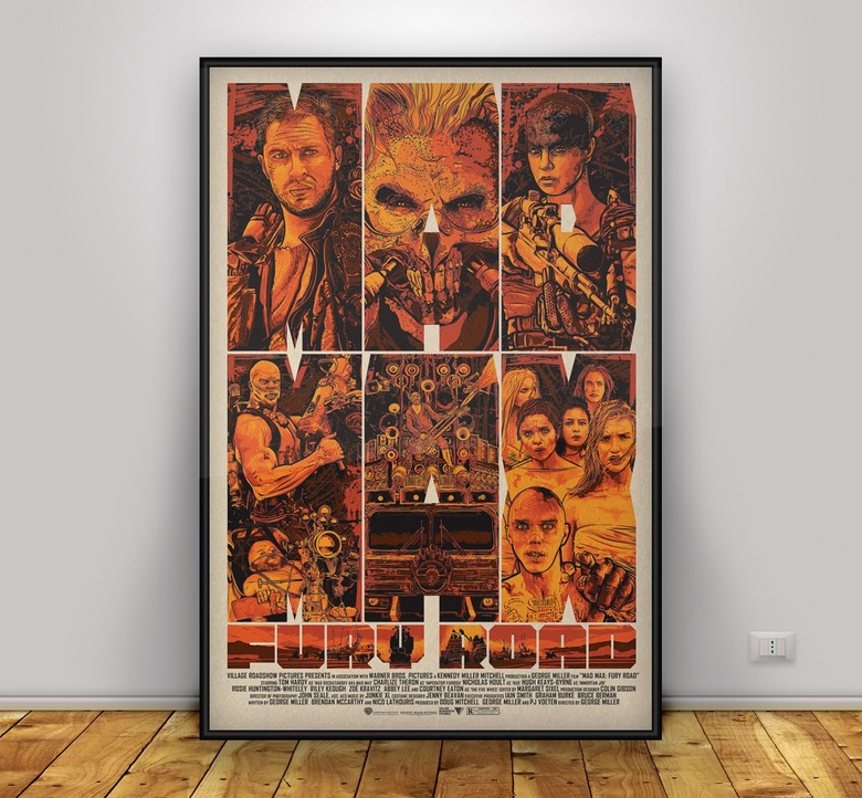 Mad Max: Fury Road Posters by Christopher Cox