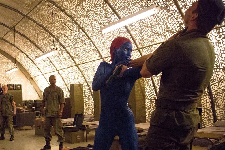 Magneto and Mystique romance