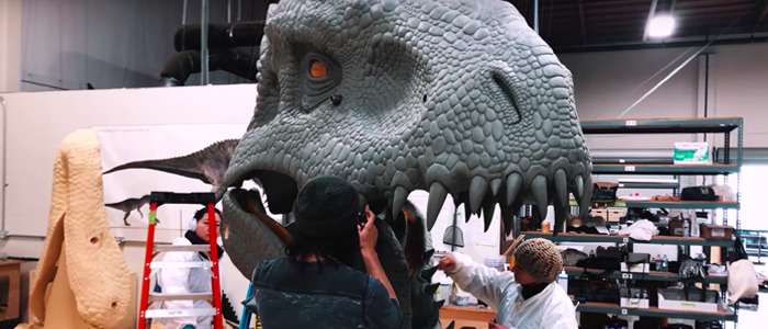 Jurassic World the Ride indominus rex