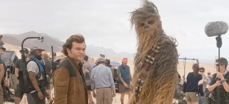 Making Solo A Star Wars Story Book