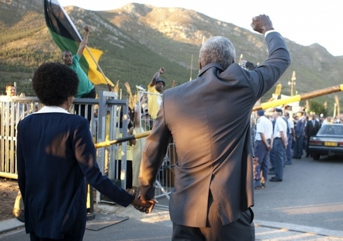 Idris Elba in 'Mandela: Long Walk to Freedom'