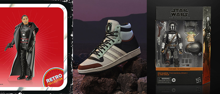 The Mandalorian Action Figures, Artwork, Shoes, and More
