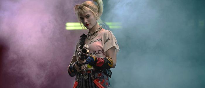 Birds of Prey - Harley Quinn, Margot Robbie colored smoke