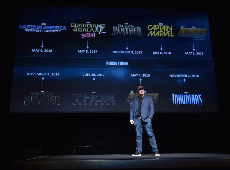 Marvel Phase 3 Kevin Feige
