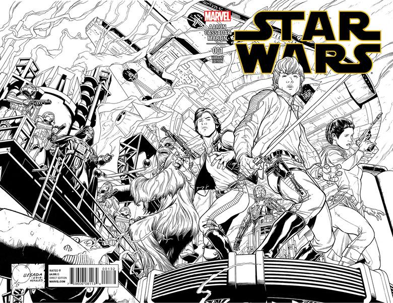 STAR WARS #1 QUESADA SKETCH VAR (2)
