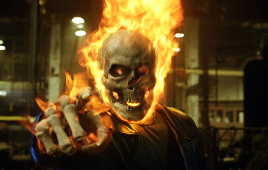 Ghost Rider head