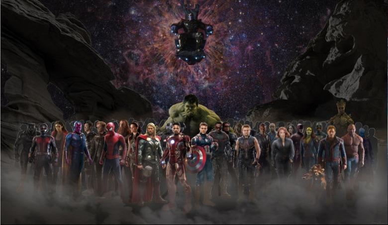 avengers: Infinity War fan art