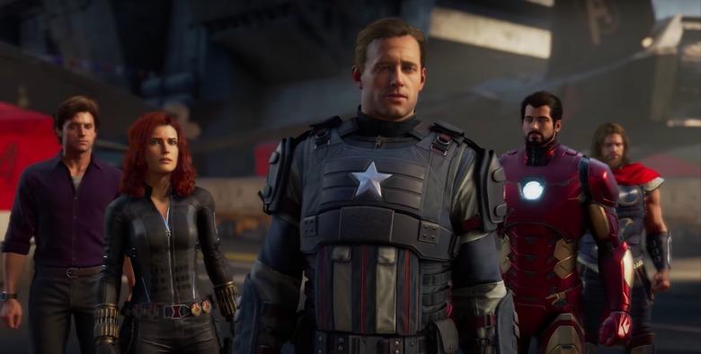 marvel's avengers a-day trailer