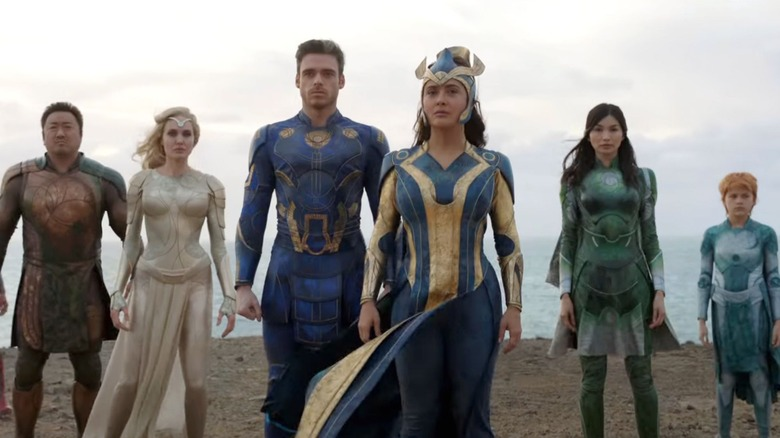 Marvel s Eternals Will Premiere At The Rome Film Festival