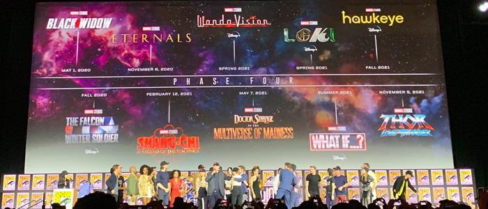 Marvel's Phase 4 SDCC